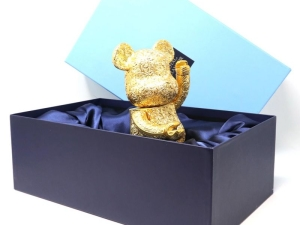 400% Bearbrick Royal Selangor Arabesque Golden