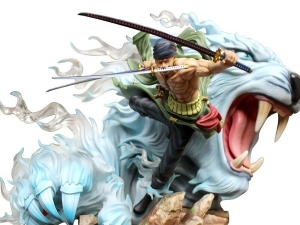 Anime GK Roronoa Zoro Cartoon Figure