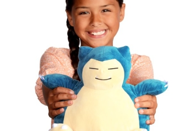 POKEMON Feature Plush 10in Snooze Action Snorlax