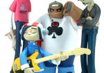 86fashion gorillaz custom vinyl toys