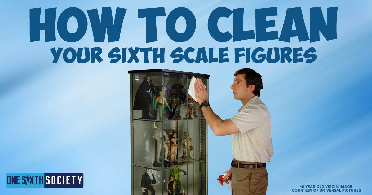 How To Clean Your Action Figures