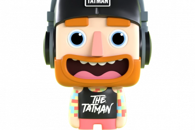 Tim the Tatman AR Vinyl Collectible, custom vinyl figures, custom vinyl toys, bespoke vinyl figurine manufacturer, custom vinyl figure, bespoke vinyl figurine,