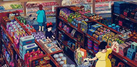 Anime Store GIF