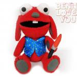 Benny Loves You Plush - 86fashion Custom Plushies
