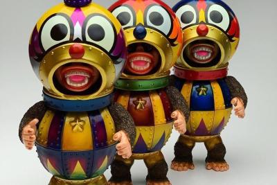 Kikkake Toy'Future Cat' New Year Edition