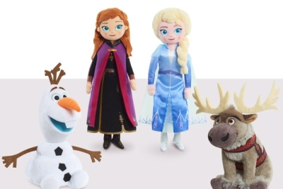 Disney Frozen Talking Small Plush Anna