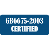 GB6675-2003 certified 86fashion