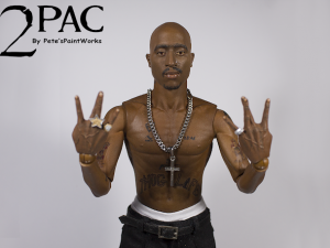 2pac action figure, 86fashion custom action figure