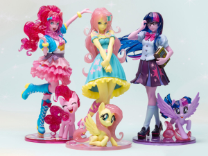 My Little Pony Bishoujo Fluttershy Limited Edition 86fashion Shared Exclusive custom cartoon PVC figure