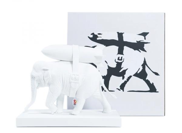 banksy designer toys maker