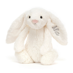 Personalized Bashful Cream Bunny