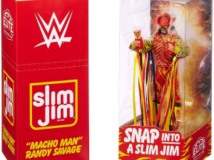 MachoMan Slim Jim Action Figure