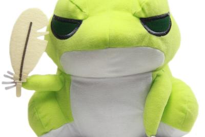 Tabikaeru Travel Frog Plush